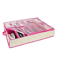 ClosetCandie Hot Pink Under-the-Bed Shoe Box