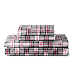 Ruff Hewn Plaid Back Country Flannel Sheet Set