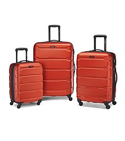 Samsonite® Omni Burnt Orange Luggage Collection + $50 Gift Card by Mail