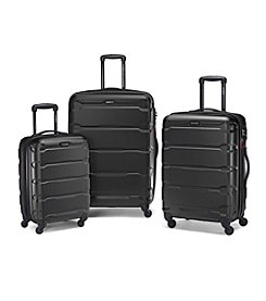 Samsonite® Omni Black Luggage Collection + $50 Gift Card by Mail