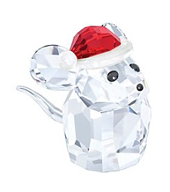 Swarovski® 2015  Mouse With Santa's Hat