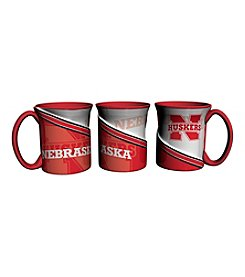 University Of Nebraska Sculpted Twist Mug