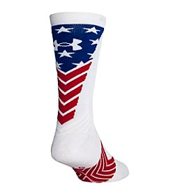 Under Armour® Men's Undeniable Stars And Stripes Crew Socks