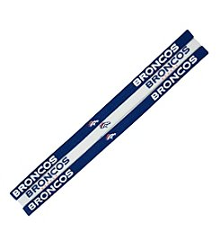 Little Earth NFL® Denver Broncos Set of 3 Elastic Headbands