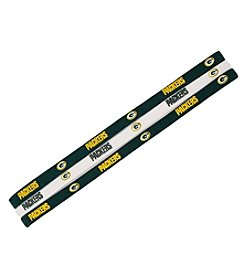 Little Earth NFL® Green Bay Packers Set of 3 Elastic Headbands