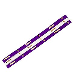 Little Earth NFL® Minnesota Vikings Set of 3 Elastic Headbands