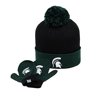 Top of the World NCAA® Michigan State Spartans Kids Hat & Mitten Set
