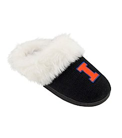 College Editions NCAA® Illinois FIghting Illini Women's Knit Clog Slippers