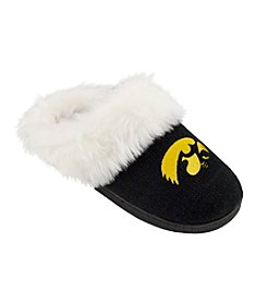 College Editions NCAA® Iowa Hawkeyes Women's Knit Clog Slippers