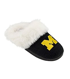 College Editions NCAA® University of Michigan Knit Clog Slippers