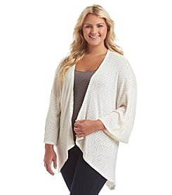 Eyeshadow® Plus Size Knit Cardigan