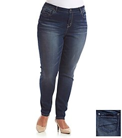 Wallflower® Plus Size Skinny Jean Leggings