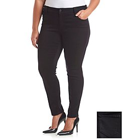 Celebrity Pink Plus Size Black Skinny Jeans