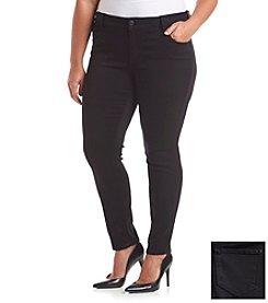 Celebrity Pink Plus Size Black Skinny Jeans