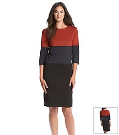 Ronni Nicole® Rugby Colorblock Dress