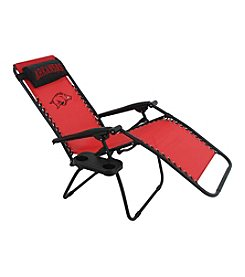 NCAA® Arkansas Razorbacks Zero Gravity Chair