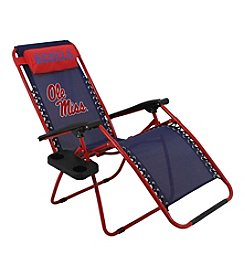 NCAA® Mississippi Rebels Zero Gravity Chair