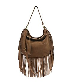 Lucky Brand® Rickey Suede Crossbody Hobo