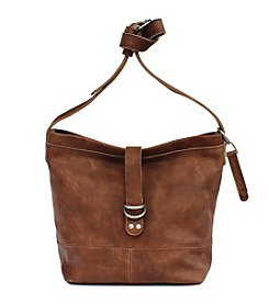 Lucky Brand® Dempsey Leather Crossbody Bucket