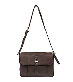 Lucky Brand® Medine Leather Flap Shoulder Bag