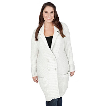 UPC 803049715023 - Lucky Brand® Plus Size Ribbed Sweater Coat ...