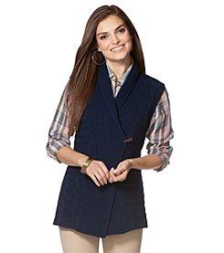 Chaps® Shawl Sweater Vest