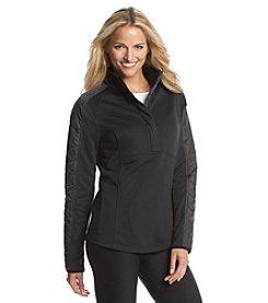 Exertek® Quilted Half Zip Pullover