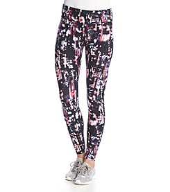 Calvin Klein Performance Skyline Print Long Running Tights