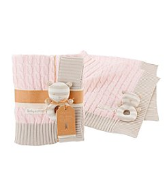Baby Aspen® Classic Cable Knit Blanket