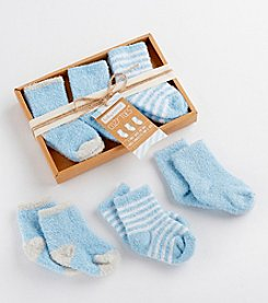 Baby Aspen 3-Pair Cozy Chenille Socks Set