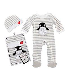 Baby Aspen® Penguin PJ Gift Set