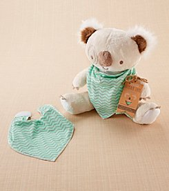 Baby Aspen Koala Plush with Bandana Bib for Baby
