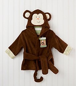 Baby Aspen Monkey Hooded Spa Robe