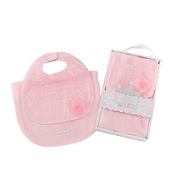 Baby Aspen® Little Princess Bib & Burp Set