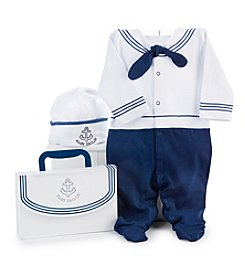 Baby Aspen® 2-Piece Big Dreamzzz Baby Sailor  Layette Set