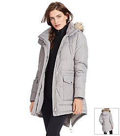 Lauren Ralph Lauren® Tweed-Print Quilted Down Jacket