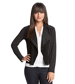 Calvin Klein Asymmetrical Side Zip Cardigan