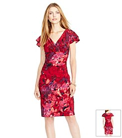 Lauren Ralph Lauren® Floral Surplice Dress