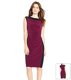 Lauren Ralph Lauren® Two-Toned Jersey Dress