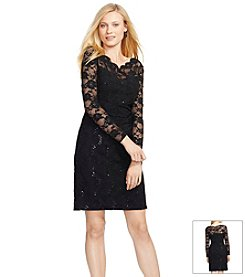 Lauren Ralph Lauren® Sequined-Lace Dress
