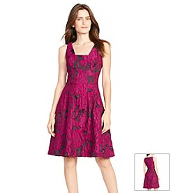 Lauren Ralph Lauren® Floral Jacquard Dress