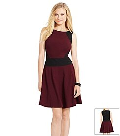 Lauren Ralph Lauren® Color-Blocked Sleeveless Dress