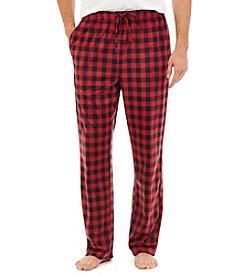 Nautica® Men's Plaid Fleece Sleep Pants