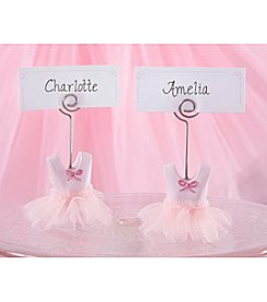 Kate Aspen Set of 12 Tutu Cute Place Card Holders