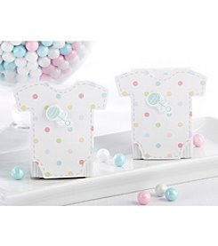 Kate Aspen Set of 24 Welcome Baby Favor Box