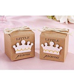 Kate Aspen Set of 24 Little Princess Kraft Favor Box