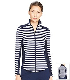 Lauren Active® Striped Track Jacket