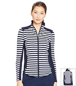 Lauren Active® Striped Track Jacket