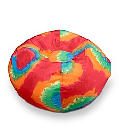 Red/Orange Tye Dye Bean Bag