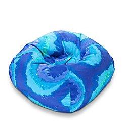 Ace Bayou Blue/Purple Tye Dye Polyester Bean Bag